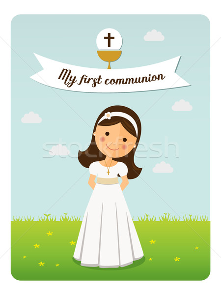 My first communion reminder  Stock photo © Imaagio