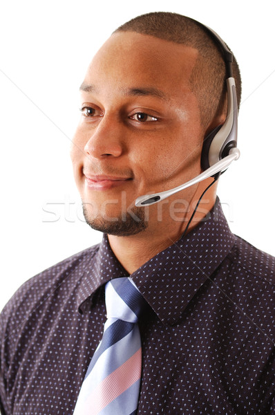 Business support operator Stock photo © Imabase