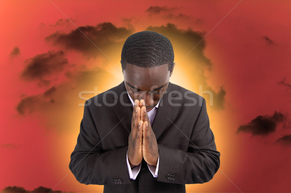 Spiritual Hardship Stock photo © Imabase