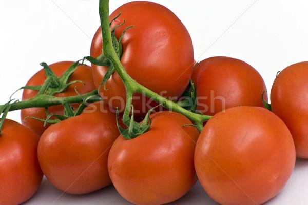 Olgun domates kırmızı sulu asma gıda Stok fotoğraf © Imagecom