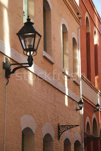 Romantik mimari yaz seyahat kırmızı Stok fotoğraf © Imagecom