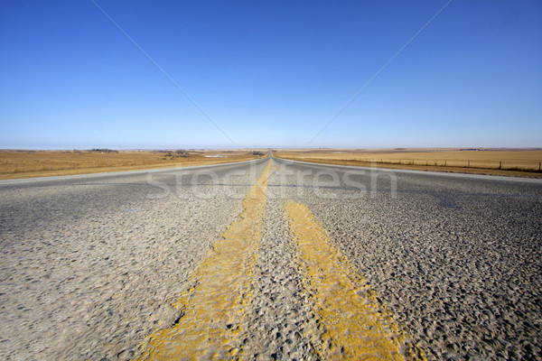 Uzak yol seyahat sıcak yalnız tatil Stok fotoğraf © Imagecom