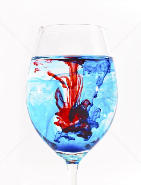 Farklı renkli içecekler gül Stok fotoğraf © Imagecom