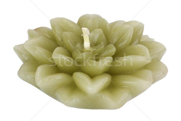 Сток-фото: свечу · шаблон · фотографии · украшение · орнамент