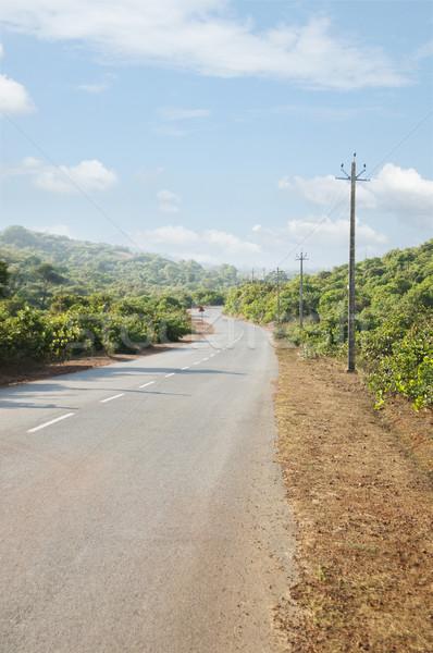 út Goa India kosz árnyék fotózás Stock fotó © imagedb