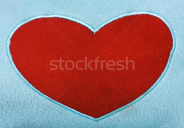 Сток-фото: формы · сердца · подушка · любви · романтика · фотографии · горизонтальный