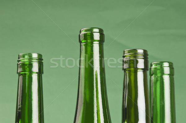 Primer plano vacío botellas fiesta beber botella Foto stock © imagedb