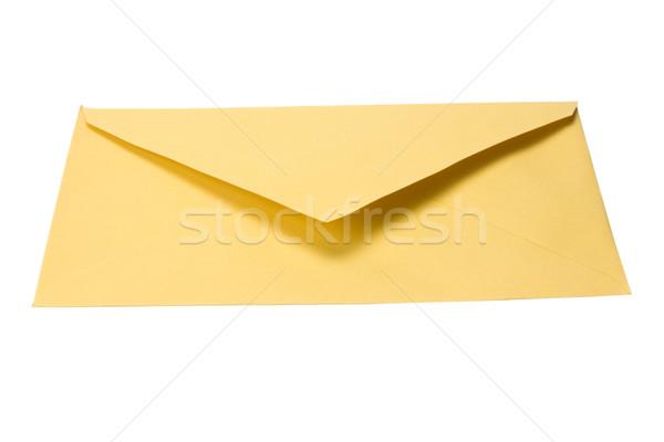 Kopercie mail odizolowany poziomy białe tło Zdjęcia stock © imagedb