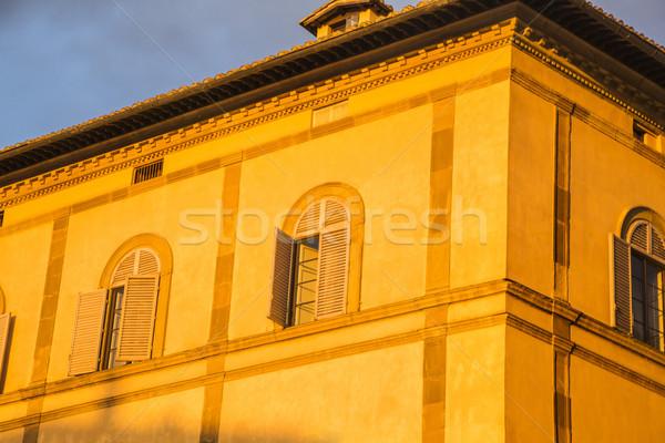 Erfgoed gebouw Toscane Italië Stockfoto © imagedb