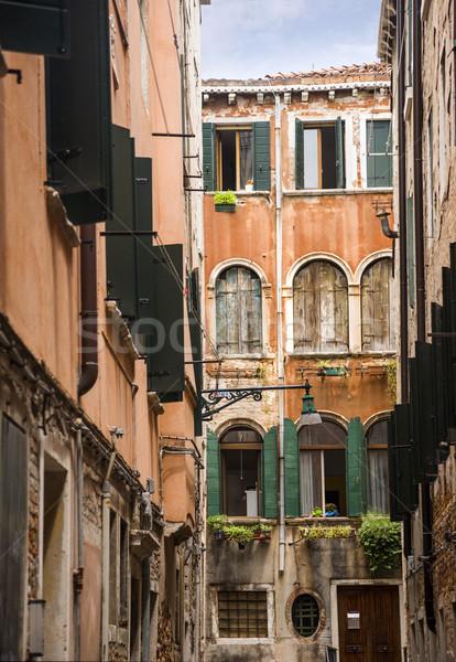 Old buildings Stock photo © imagedb