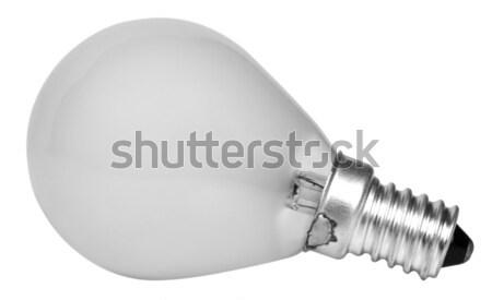 Energia eficiente lâmpada tecnologia vidro Foto stock © imagedb