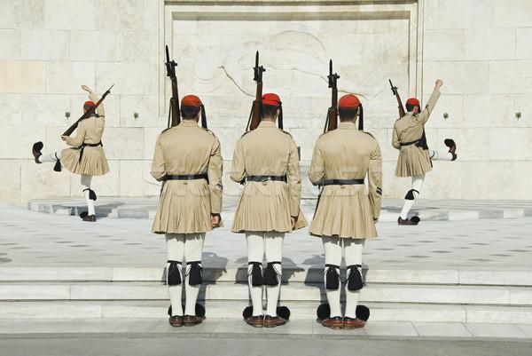 королевский могилы неизвестный солдата квадратный Афины Сток-фото © imagedb