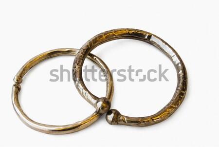 Pary złota diament klejnot kółko Zdjęcia stock © imagedb