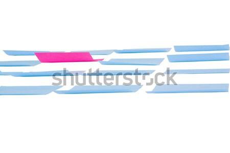 клей отмечает белый бумаги карт планирования Сток-фото © imagedb