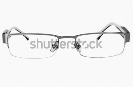 Gözlük objektif fotoğrafçılık yatay beyaz arka plan Stok fotoğraf © imagedb