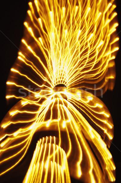 światła odznaczony drzewo goa Indie świetle Zdjęcia stock © imagedb