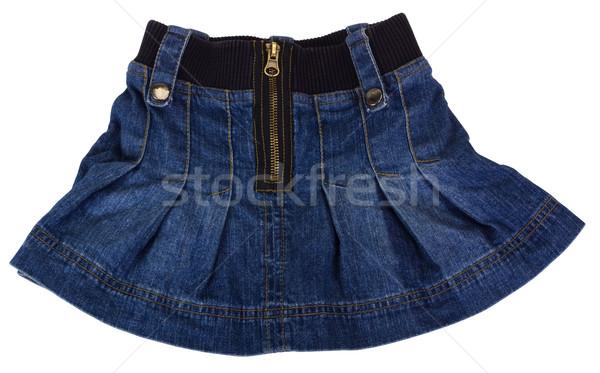 Minirok mode doek textiel kleding Stockfoto © imagedb