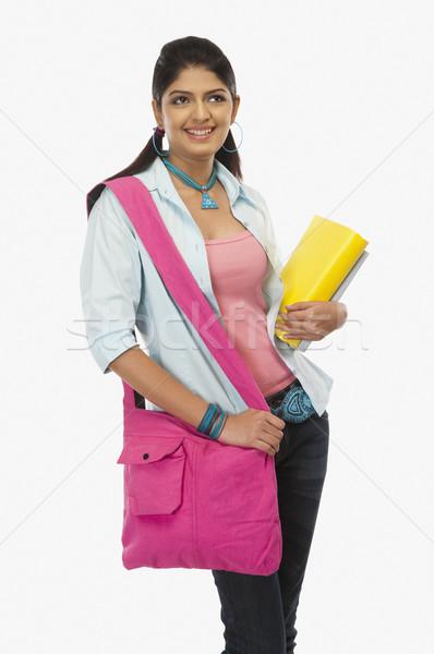 Feminino livros dia Foto stock © imagedb