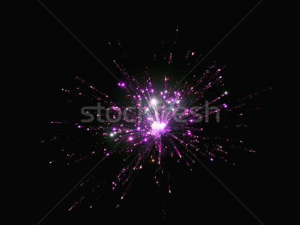 Fogos de artifício exibir noite céu evento fotografia Foto stock © imagedb