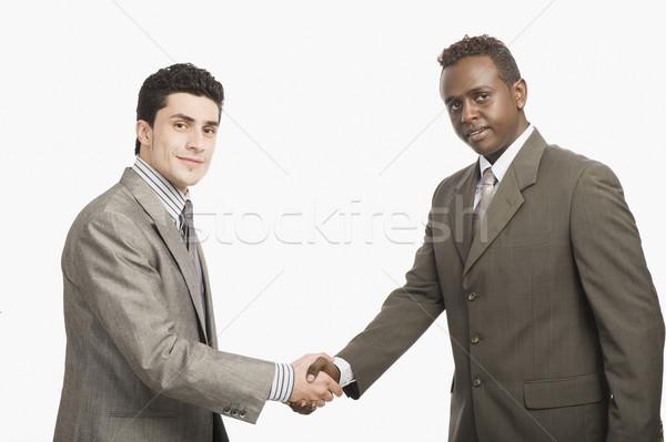 Due imprenditori stringe la mano business imprenditore stretta di mano Foto d'archivio © imagedb