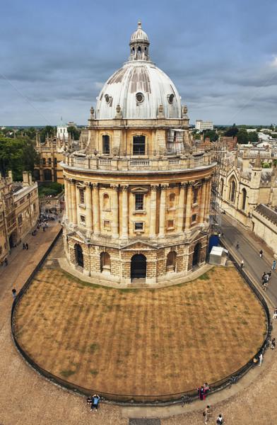 Oktatási épület város kamera Oxford egyetem Stock fotó © imagedb
