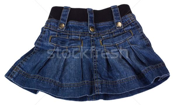 Közelkép miniszoknya divat ruha textil ruházat Stock fotó © imagedb