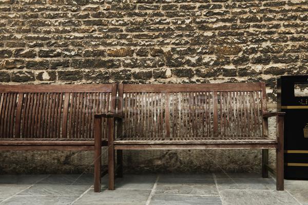 Resistiu parede oxford oxfordshire inglaterra madeira Foto stock © imagedb