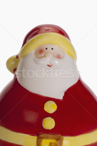 Közelkép szobrocska mikulás terv fotózás dekoráció Stock fotó © imagedb
