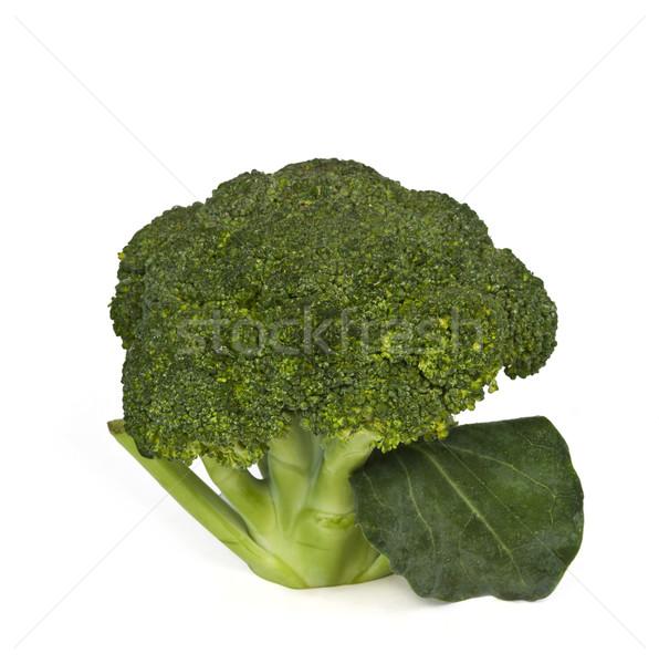 Primer plano brócoli verde vegetales fotografía aislado Foto stock © imagedb