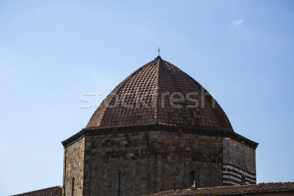 Dome of a baptistery Stock photo © imagedb