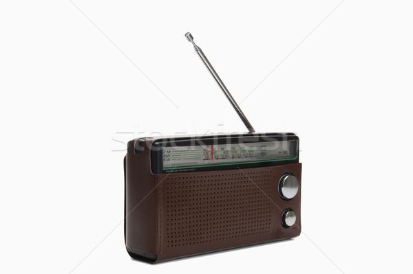 Közelkép rádió technológia kommunikáció hang klasszikus Stock fotó © imagedb