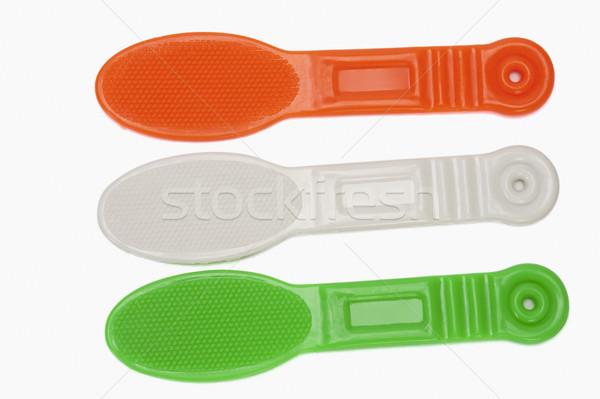 Indian banderą kolory zielone wolności biały Zdjęcia stock © imagedb
