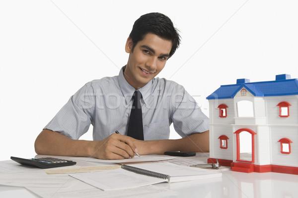 Model ev iş ofis Stok fotoğraf © imagedb