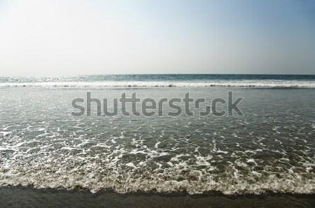 Szörf tengerpart Goa India égbolt tenger Stock fotó © imagedb