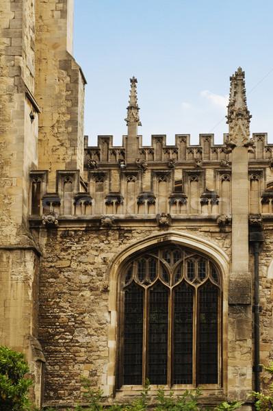 старые университета здании Оксфорд Оксфордшир Англии Сток-фото © imagedb