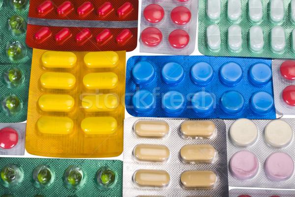 Foto stock: Bolha · medicina · grupo · farmácia · droga