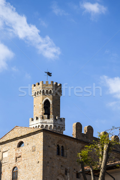 Low angle view of historical building in a old town Stock photo © imagedb