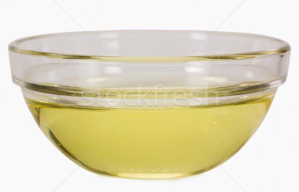 Primer plano aceite de cocina tazón petróleo grasa amarillo Foto stock © imagedb