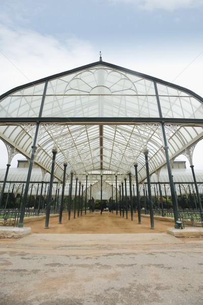 стекла дома ботанический сад саду архитектура структуры Сток-фото © imagedb