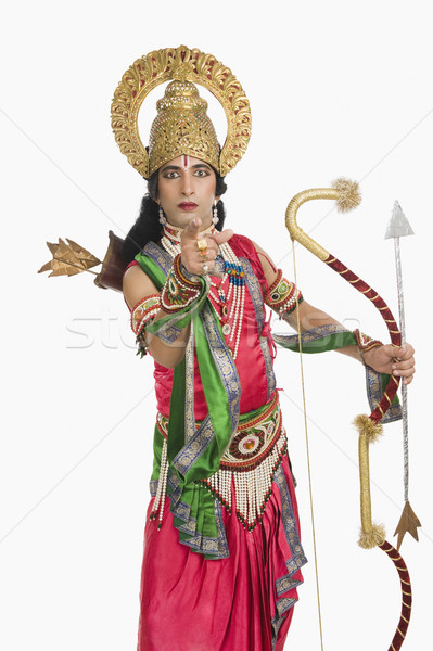 Retrato etapa artista mitológico indicação Foto stock © imagedb