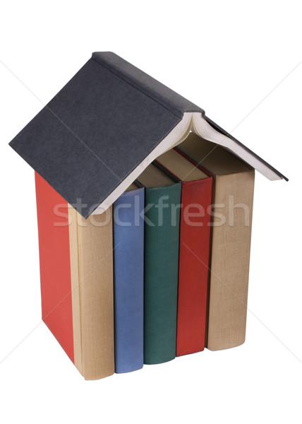 Сток-фото: модель · книга · книгах · группа · связи