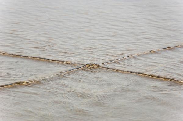 Jelző kötél tenger Goa India kapcsolat Stock fotó © imagedb