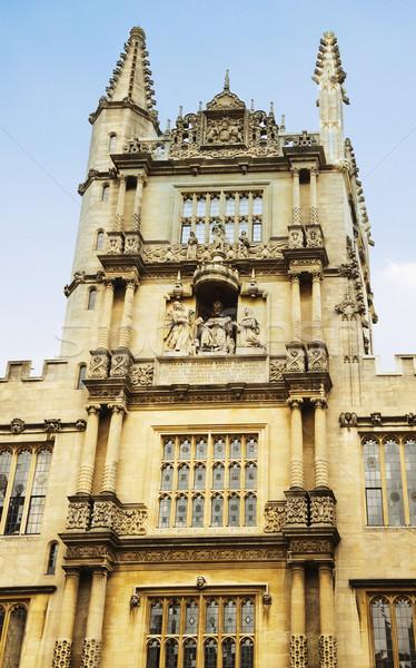 архитектурный детали здании Оксфорд университета Оксфордшир Сток-фото © imagedb