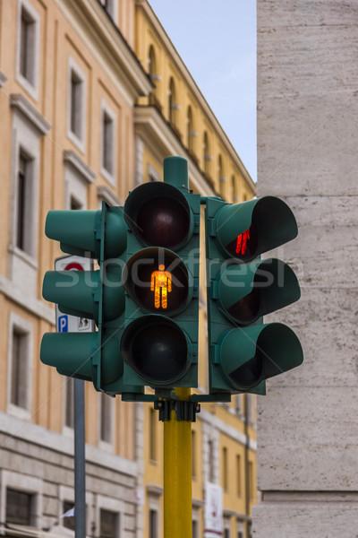 Close-up of a traffic light Stock photo © imagedb