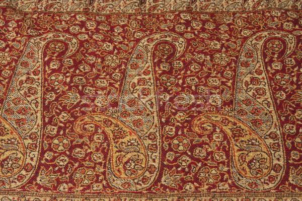 цветочный шаблон ткань искусства ковер Сток-фото © imagedb