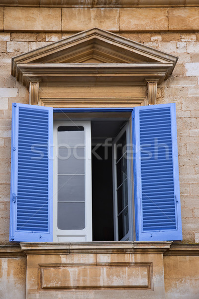 Low angle view of a window of a building Stock photo © imagedb