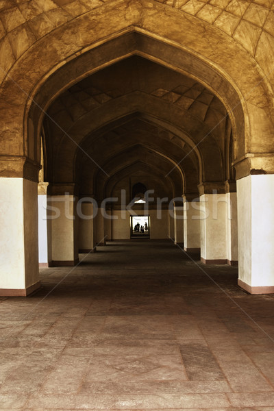 Interni mausoleo tomba architettura fotografia Foto d'archivio © imagedb