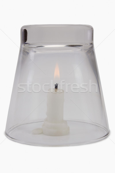 Scientifique expérience oxygène nécessaire brûlant Photo stock © imagedb