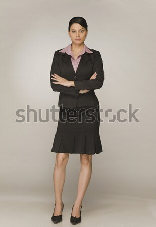 Portret zakenvrouw permanente vrouw jonge Stockfoto © imagedb