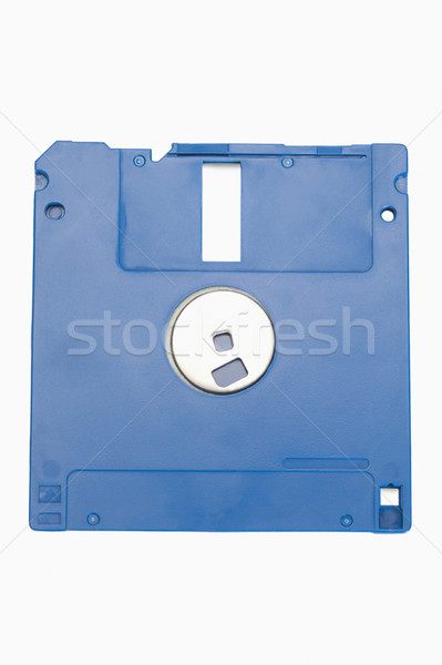 Primer plano tecnología azul información plástico electrónica Foto stock © imagedb